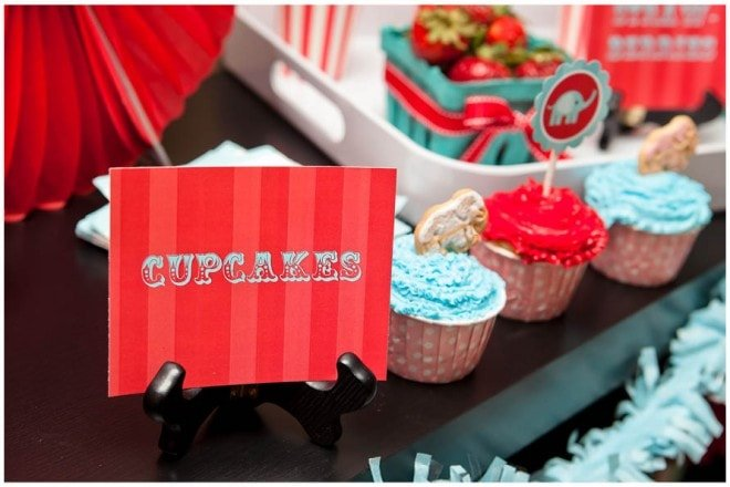 vintage circus birthday party