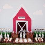children's farm yard birthday party