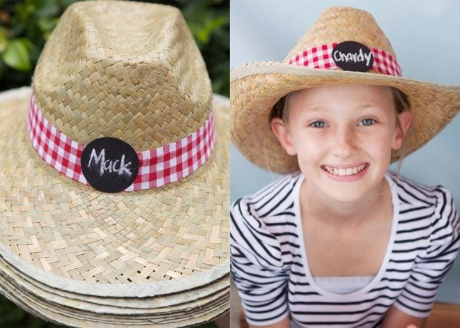 farm yard party hats