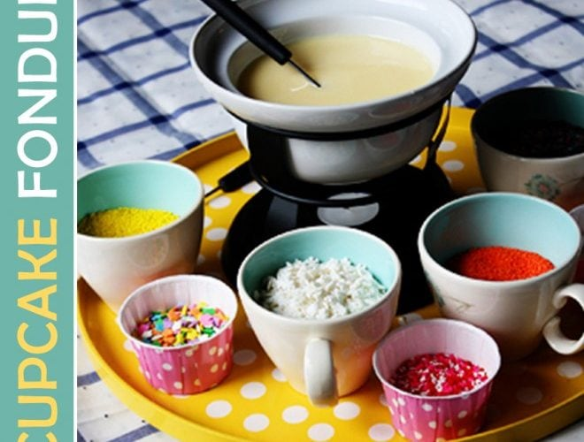 {Recipe} Cupcake Fondue Party