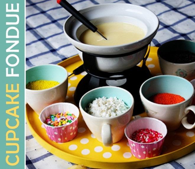 cupcake fondue recipe