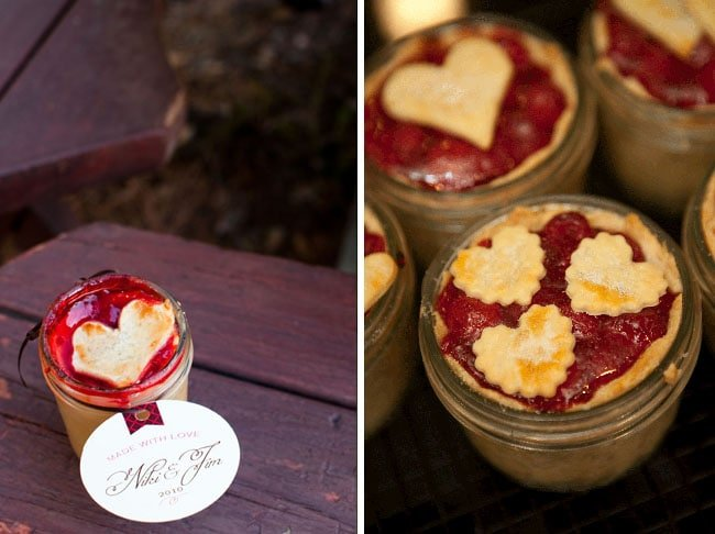 Pie Favors in a Jar {Recipes}