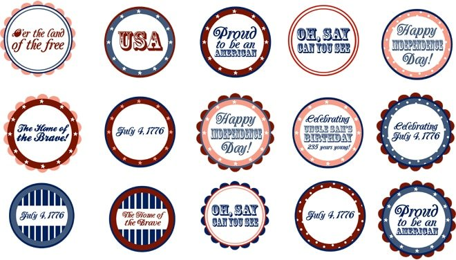 {Freebie} 4th of July Patriotic Printables