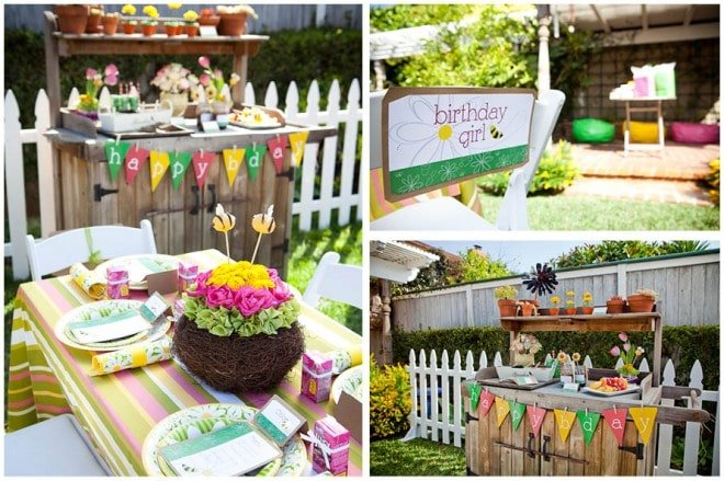 gardening birthday party 3