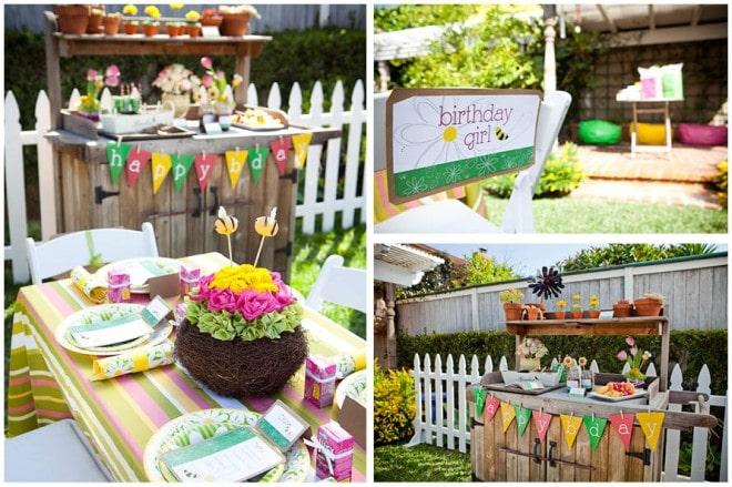 gardening birthday party 3
