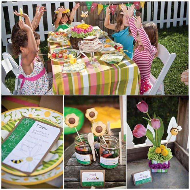 gardening birthday party