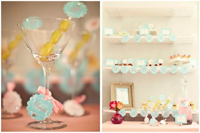 glam spa pastel party 4