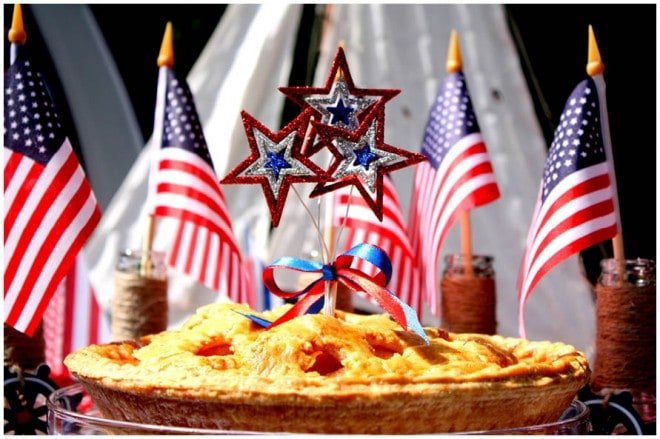 july 4th apple pie