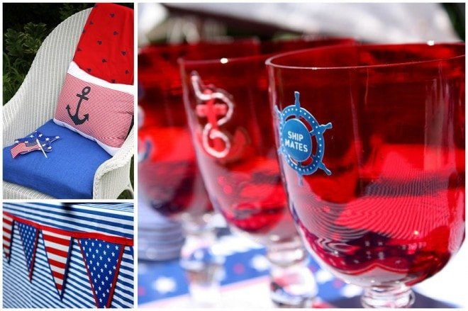 july 4th nautical party table 4
