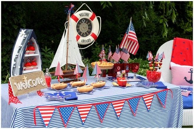 Nautical Toddler Birthday Party Ideas