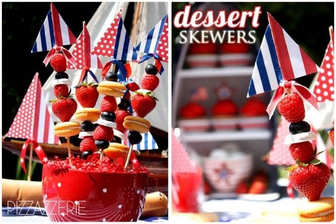 july 4th dessert skewers