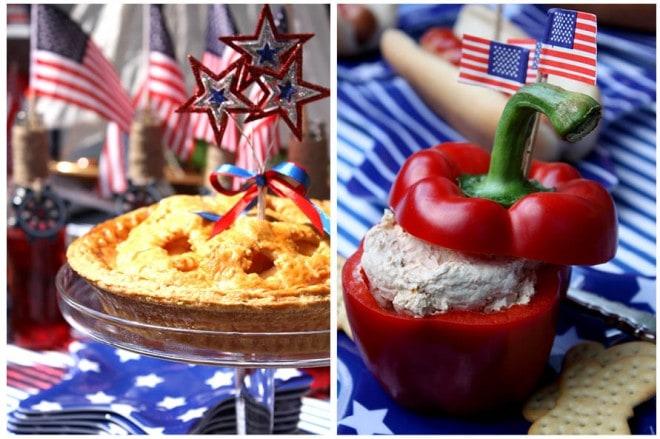 july 4th apple pie