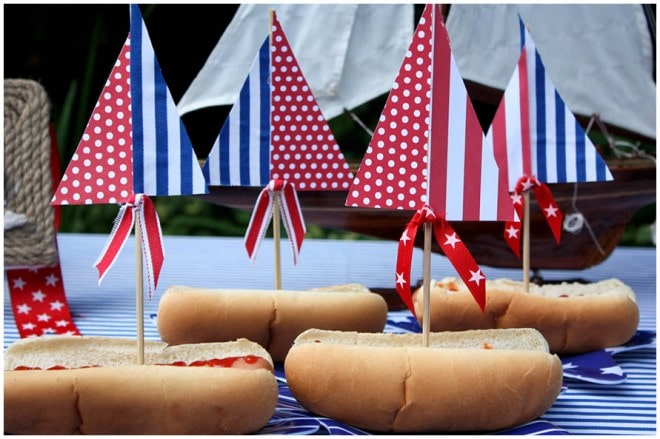 july 4th hot dogs