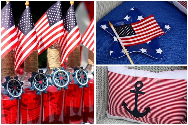 july 4th nautical decorations