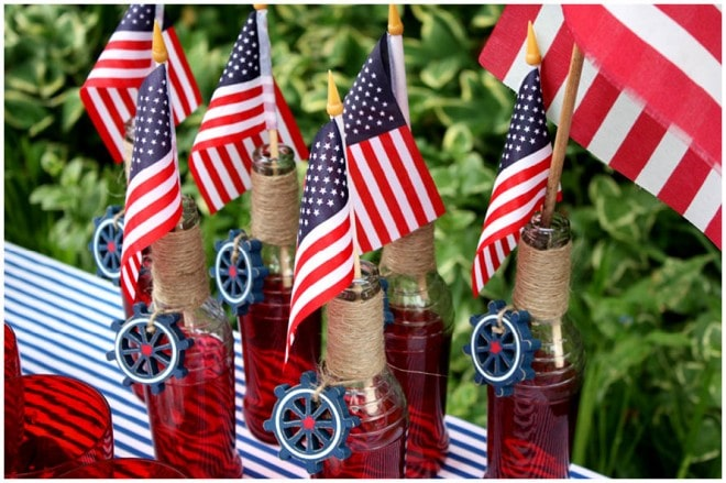 july 4th nautical party table 95