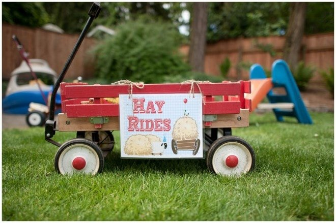 june bug farm party details 3 e1309294427825 Yee Haw! Barnyard Party Ideas