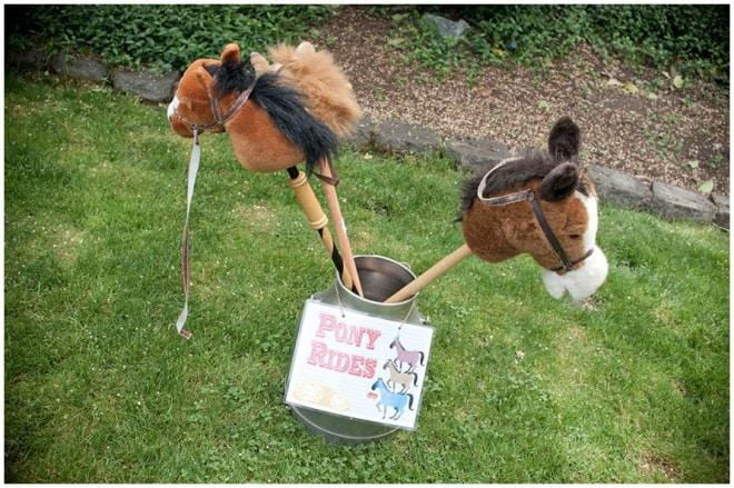 pony rides birthday party