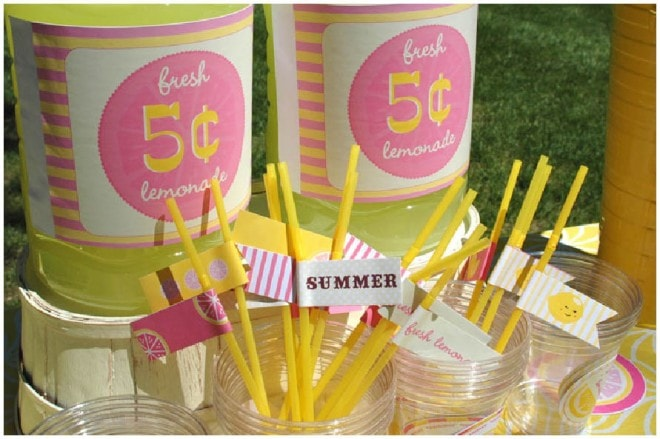 lemonade stand party
