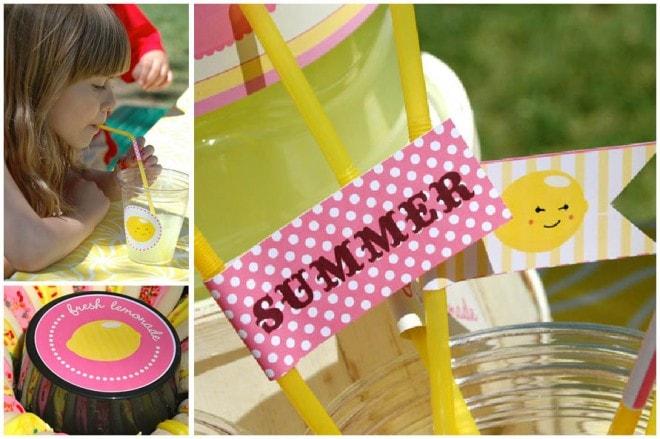 kindergarten graduation lemonade party 3