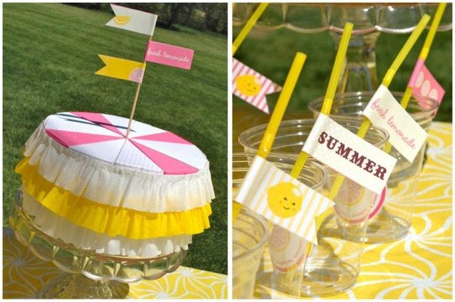 kindergarten graduation lemonade party 5