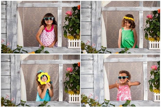 little kid photo booth