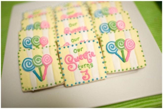 lollipop 3rd birthday party 2