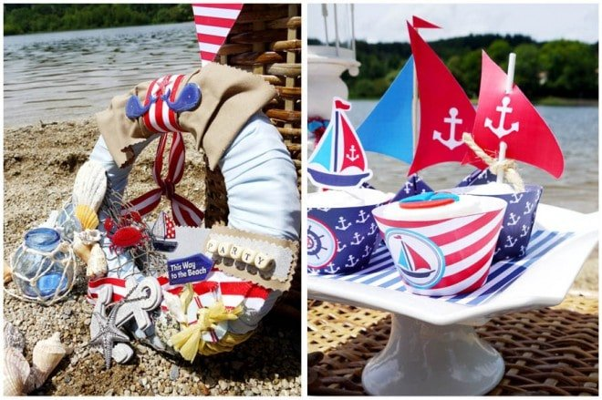 Rustic Nautical Party