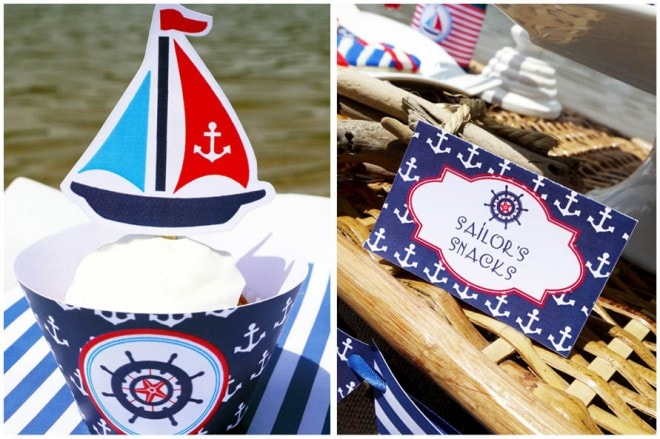 rustic nautical party 2