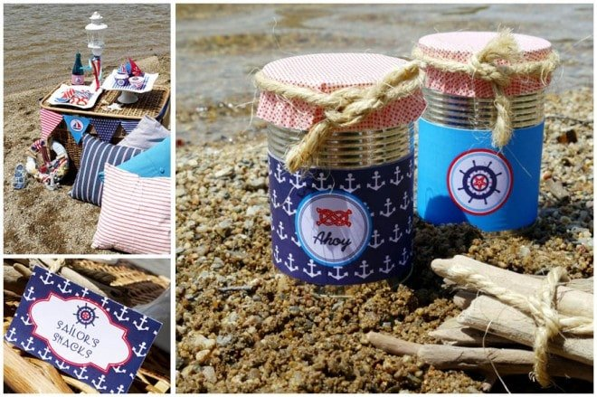 rustic nautical party 3