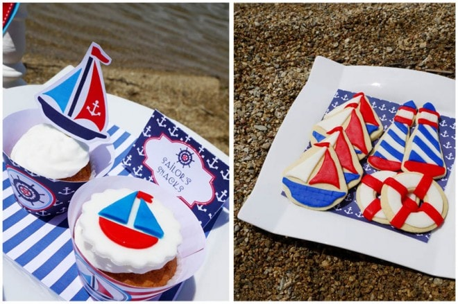 rustic nautical party 5