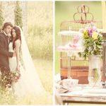 spring vintage wedding styled shoot