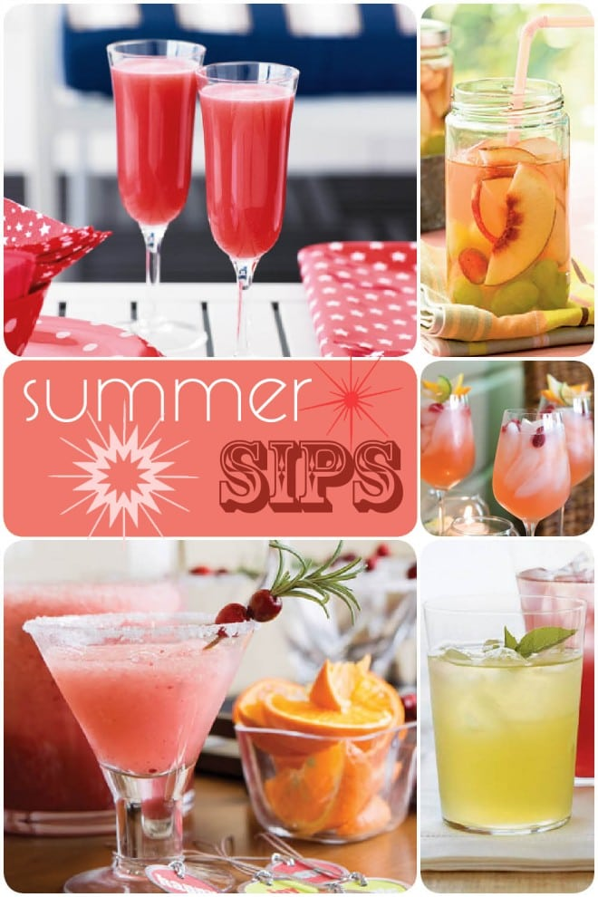 {Recipes} Summer Sips