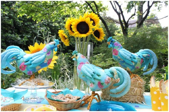 teal hen party