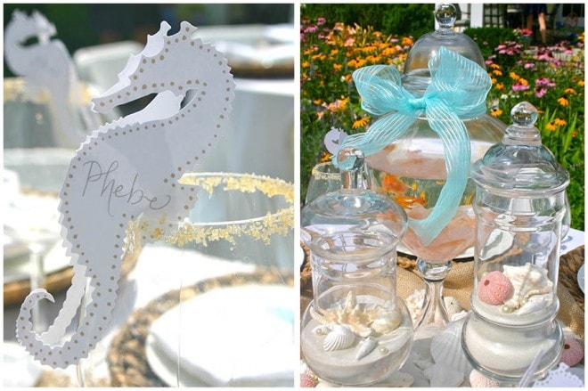 under the sea place cards