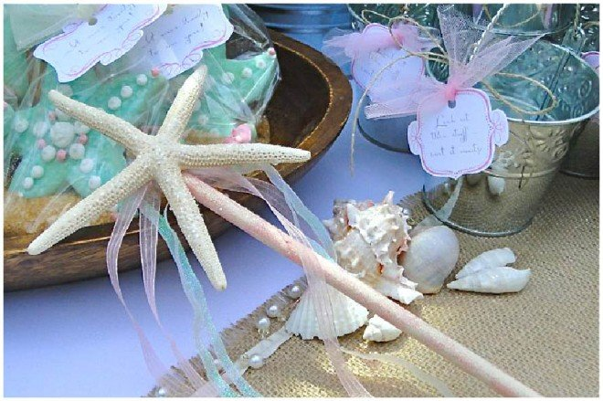 under the sea party wand