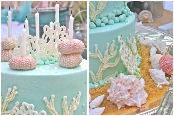 under the sea birthday cake