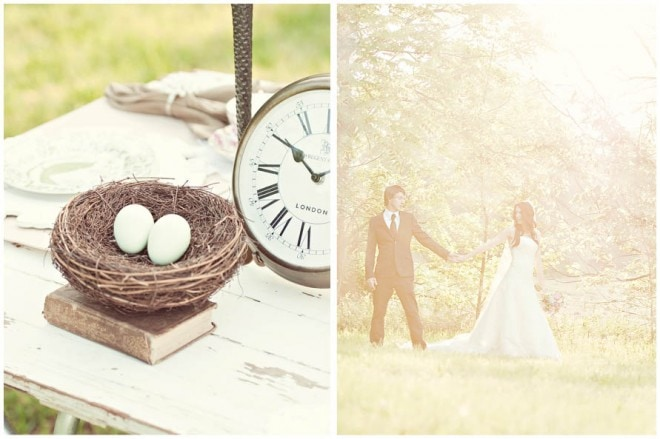 wedding styled shoot vintage