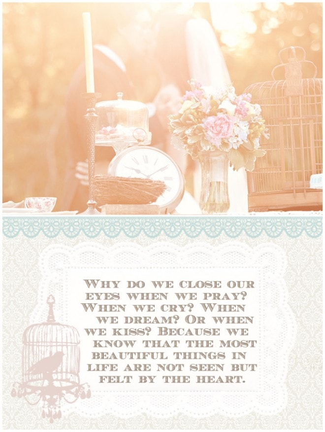 wedding styled vintage shoot