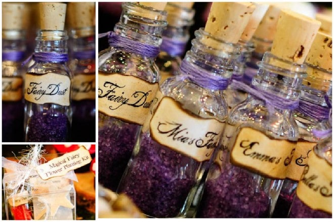 woodland fairy dust birthday party