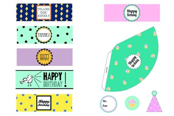 {Freebie} Birthday Party Printables