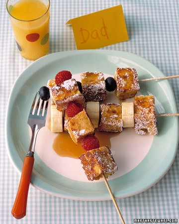french toast kebabs