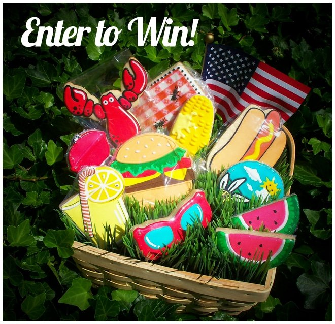 enter to win free summer picnic basket cookies