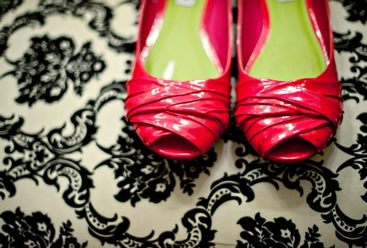 Pink + Green Preppy Southern Wedding {Scobey Photography}