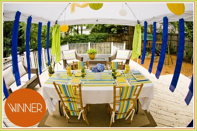SUMMER STRIPES CABANA SPA LUNCH
