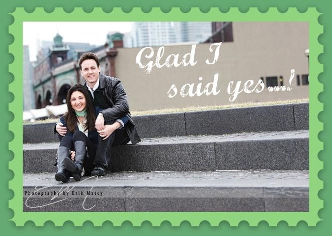 Engagement, wedding photo