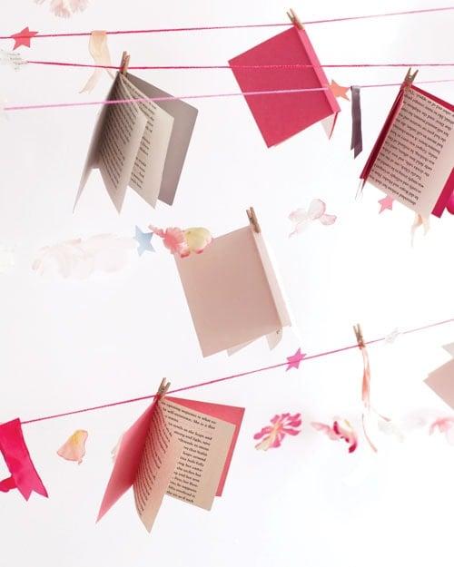 book club garland party