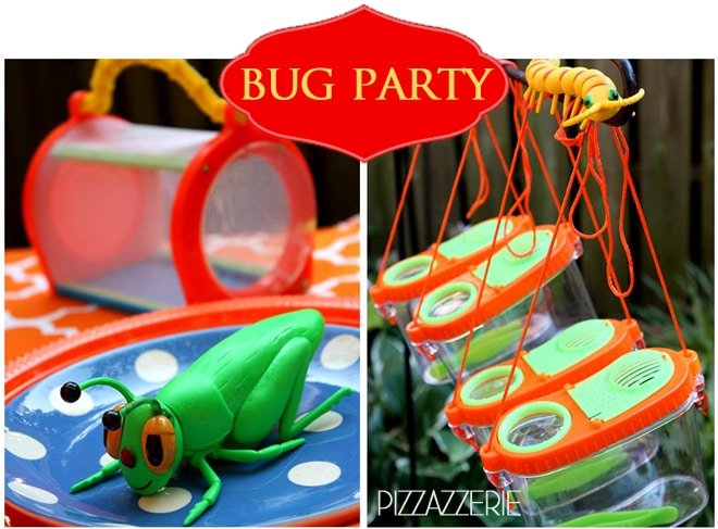 Colorful + Fun Bug Birthday Party!