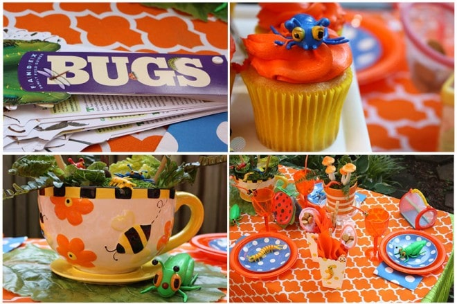 bug birthday party picture 8