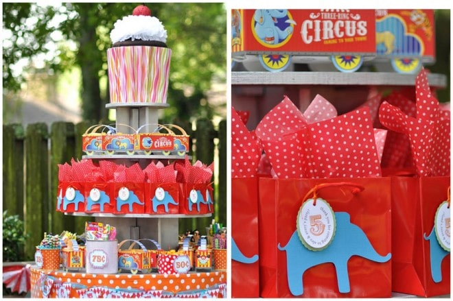 {Real Party} Circus Carnival Candy Bar