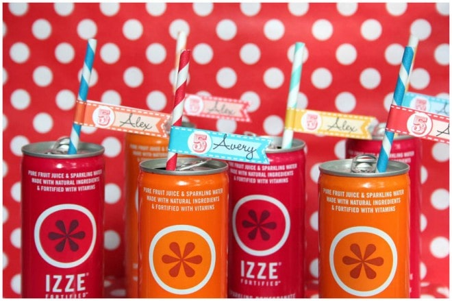 circus carnival party fun izze drinks